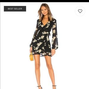 Bardot Catalina floral mini dress size S. Nwot